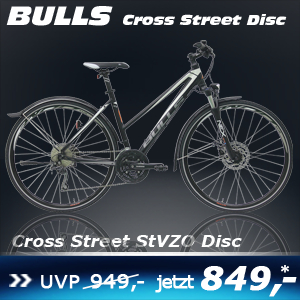 Bulls Cross Street Disc Damen 17