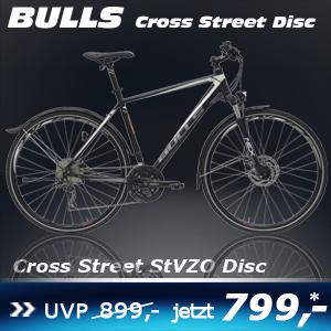 Bulls Cross Street Disc Herren 17