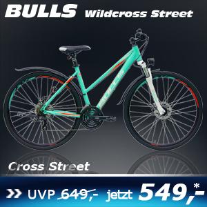Bulls Wildcross Street Damen weiss 17