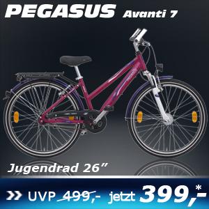 Pegasus Avanti Trapez Lila 26