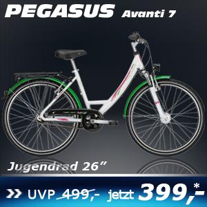 Pegasus Avanti Uno weiss 26