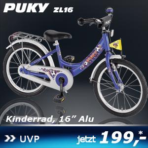 Puky ZL 16 blau