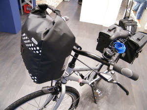 ABUS Z.E.G. Show 2016 Neuheiten Fahrradtaschen Neu Basica Satteltaschen, Gepäckträgertaschen, Pedelec, e bike,Elektrofahrrad