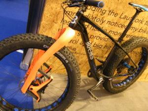 Fatbike mit carbon Lauf Trail Racer Boost und Fatbike-Gabel