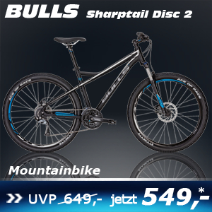 Bulls Sharptail Disc 2 Sch 17 S