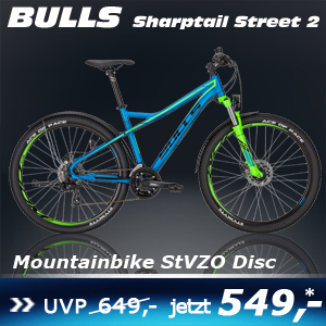 Bulls Sharptail Steet 2 Grün 17 S