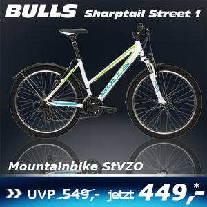Bulls Sharptail Street 1 weiß 16