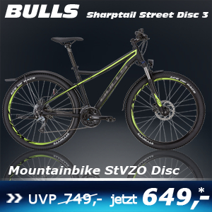 Bulls Sharptail Street Disc 3 Sch 17