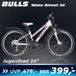 Bulls Tokee Weiß Trap 24 16