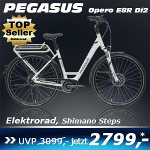Pegasus Opero E8R DI2 Uno Weiss 17