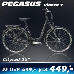 Pegasus Piazza 26 Zoll 7 Gg sch