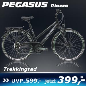 Pegasus Piazza Da schwarz Trapez 16