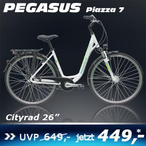 Pegasus Piazza Deep 26 7 G weiß