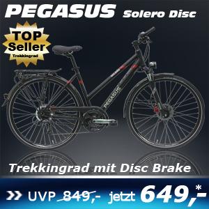 Pegasus Solero Disc Damen Trapez 17