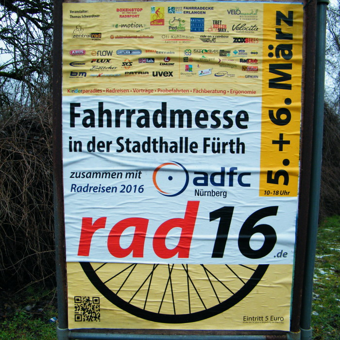 Fahrradmesse Führt 2016