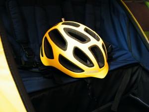 Kinderanhänger Helm