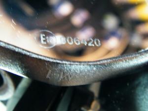 Spiegel mit E-Prüfzeichen