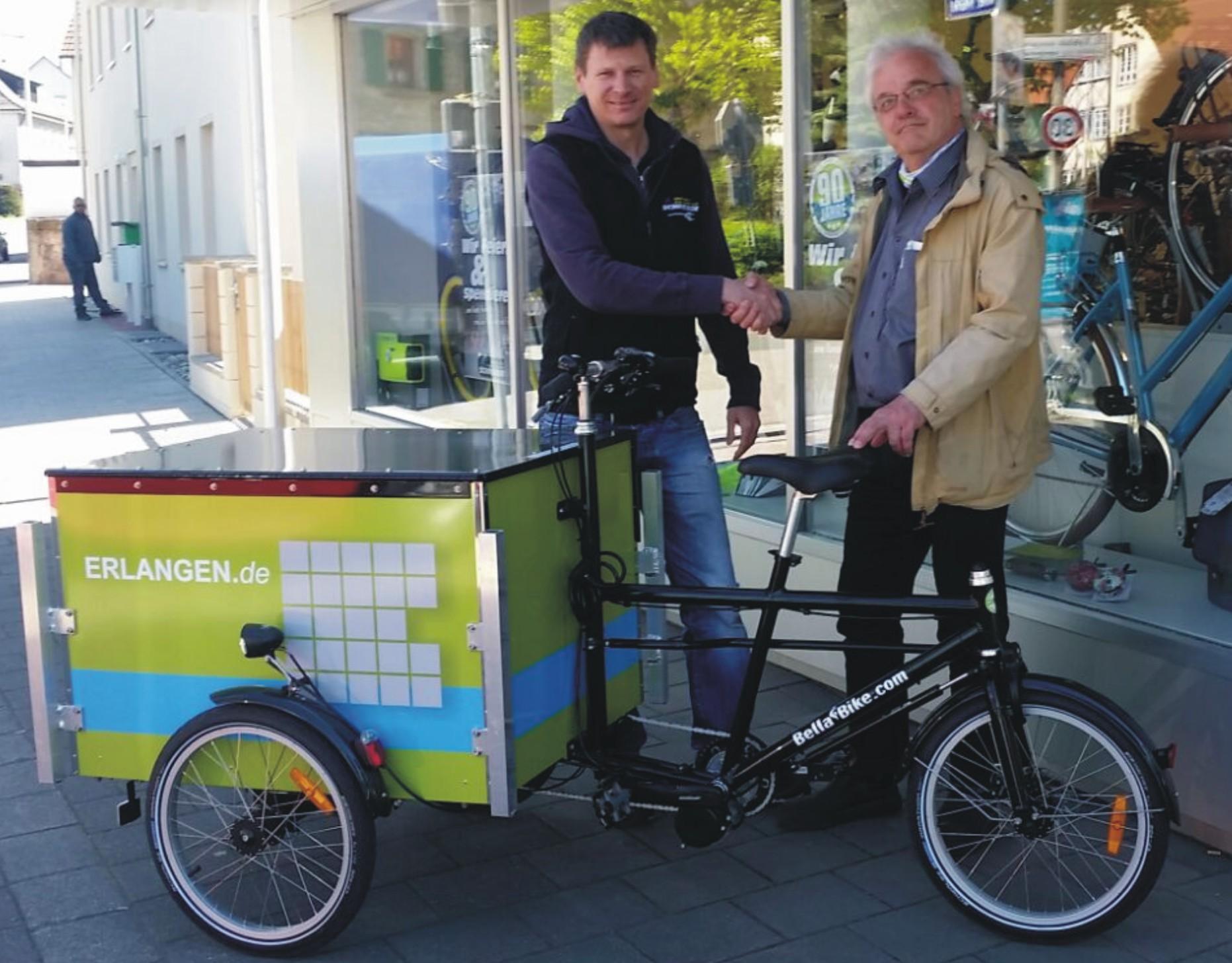 Lasten E Bike Stadt Erlangen