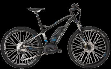 Bulls Pedelec Mountainbike mit Bosch Mittelmotor und shimano Kettenschaltung