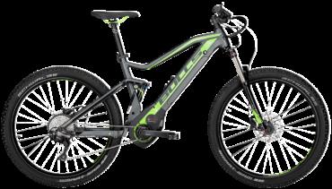 Bulls Mountainbike Pedelec mit bosch motor, Suntour federgabel und shimano kettenschaltung