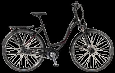 KTM Trekkingrad mit Shimano 11 Alfine Nabenschaltung und Schwalbe Marathon Fahrradreifen