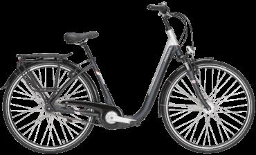 """graues Citybike von Pegasus mit 7 Gg Nabenschaltung und extrem tiefen Rahmen in 28"""""""