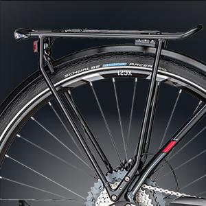 fahrradgepäckträger i-rack in schwarz