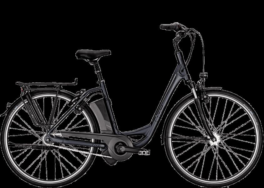 Damen City E-Bike mit tiefem Rahmen Einstieg, 7 Gang Shimano Schaltung
