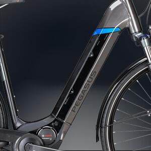 Pegasus mit intregrierten Bosch Rahmenakku
