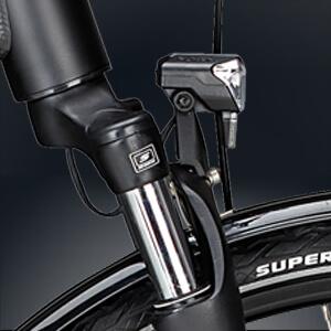 Fuxon Scheinwerfer in schwarz mit 30 Lux