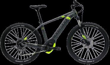 Kartaga Pedelec mit Bosch Motor suntour Fahrradfedergabel und shimano schaltung