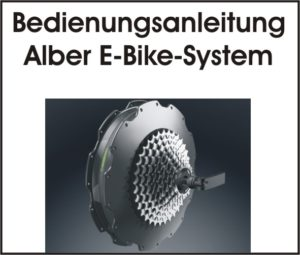 Text plus Abbildung eines Alber Heck E-Bike Motors