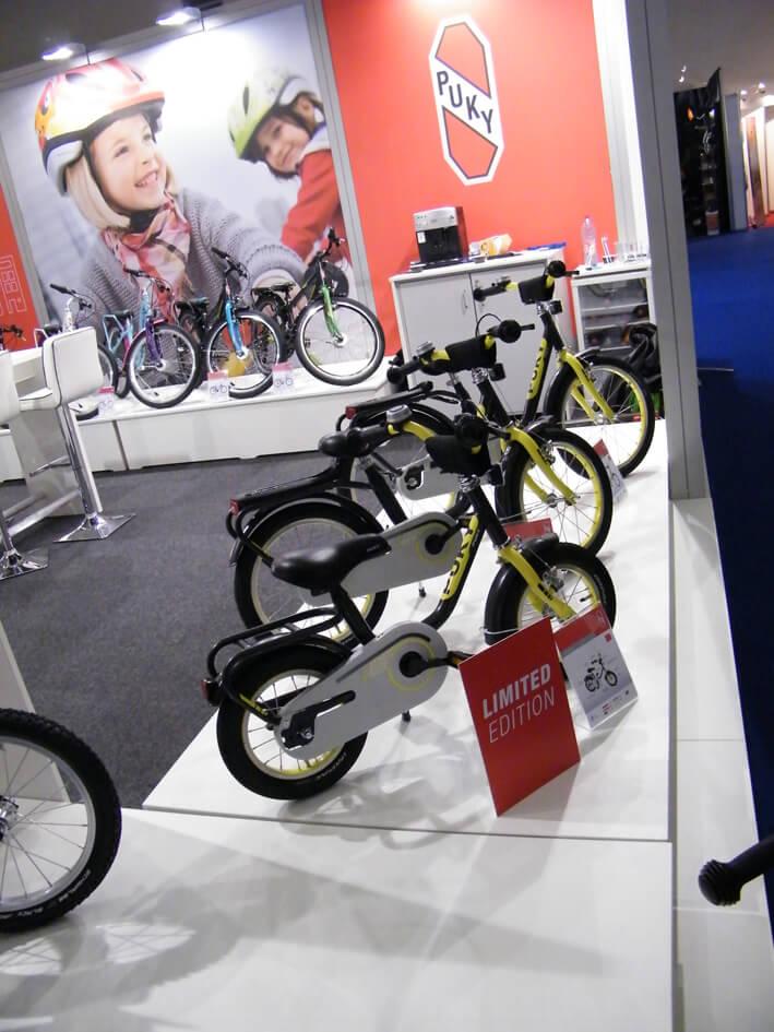 Puky Stand auf der ZEG Bike Show