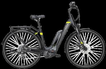 Pegasus E-Bike mit Bosch CX Mittelmotor und Suntour Federgabel